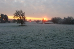 63 Frosty morning from Catterals Lane